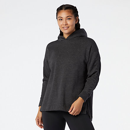 New Balance Transform Cinched Sleeve Hoodie, WT03452BKH image number null