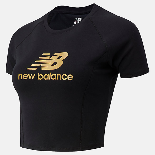 NB Camiseta NB Athletics Podium, WT03503BK