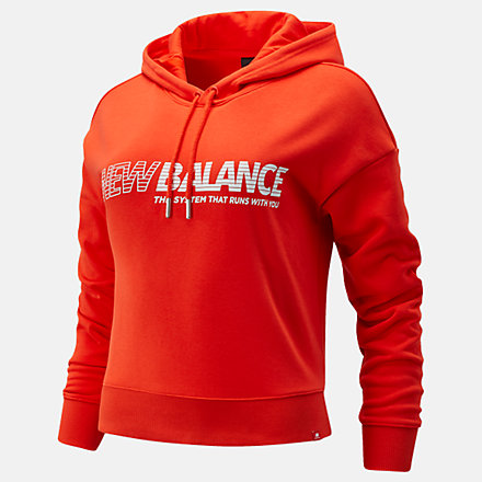 New Balance Essentials NB Speed Hoodie, WT03508NEF image number null