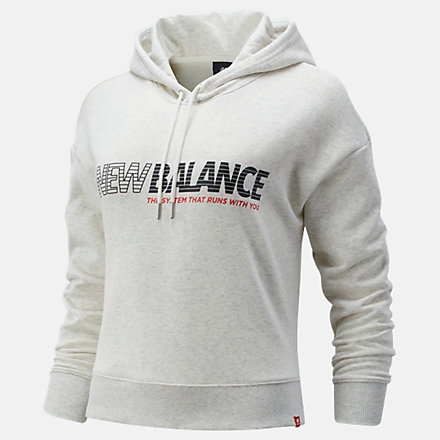 New Balance Essentials NB Speed Hoodie, WT03508SAH image number null