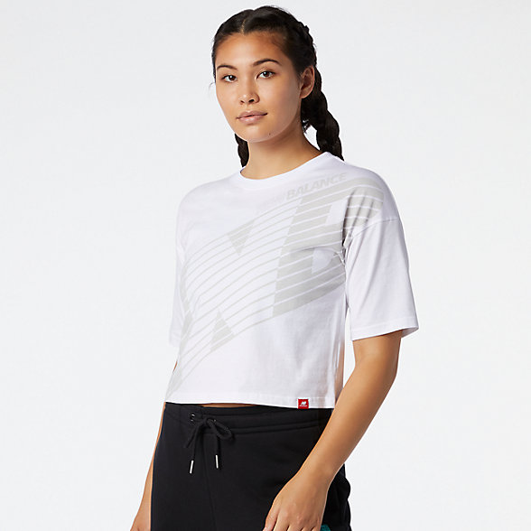 New Balance Essentials NB Speed Graphic Tee, WT03510WT