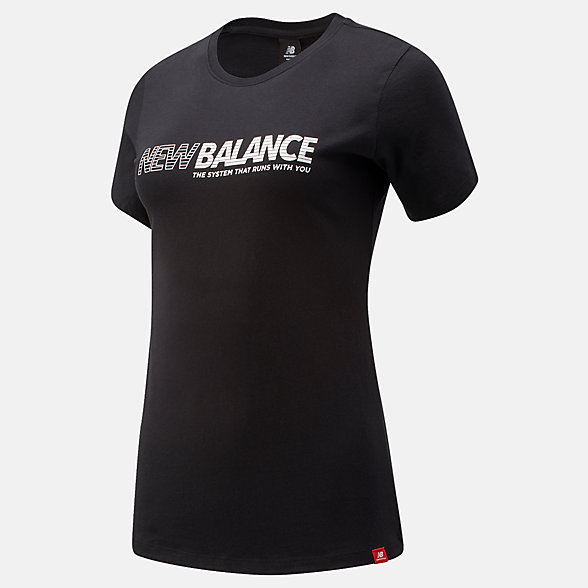 NB Essentials NB Speed T-Shirt, WT03511BK