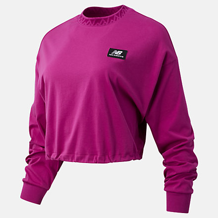 New Balance NB Athletics Terrain Long Sleeve Tee, WT03530JJL image number null