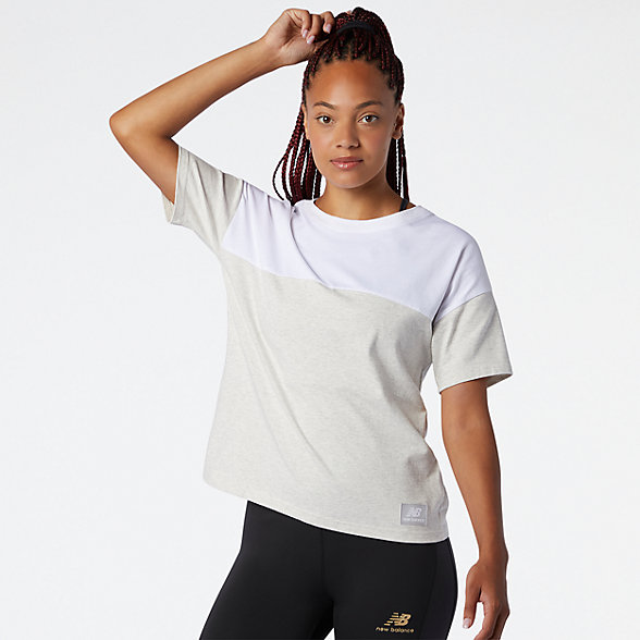 NB NB Athletics Terrain Blocked T-Shirt, WT03544WT