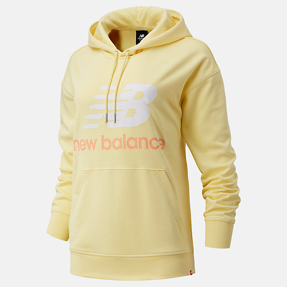 NB Sudadera con capucha NB Essentials Stacked Logo Oversized, WT03547LHZ