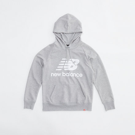 New Balance NB Essentials Pullover Hoodie, WT03550AG image number null