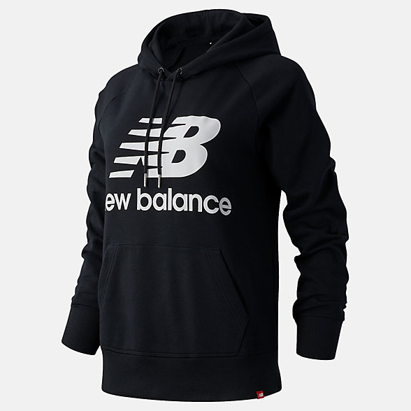 New Balance NB Essentials Pullover Hoodie, WT03550BK