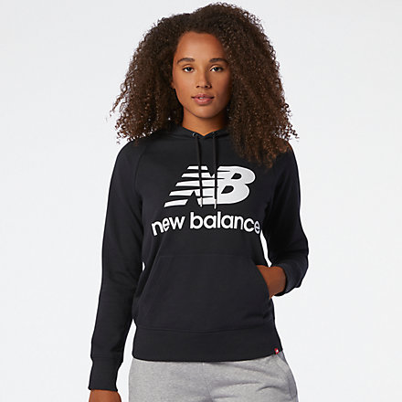 New Balance NB Essentials Pullover Hoodie, WT03550BK image number null
