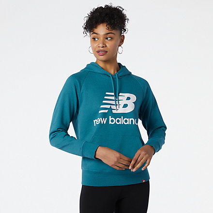 New Balance NB Essentials Pullover Hoodie, WT03550DEP image number null