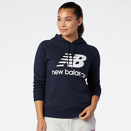 New Balance NB Essentials Pullover Hoodie, WT03550ECL image number null