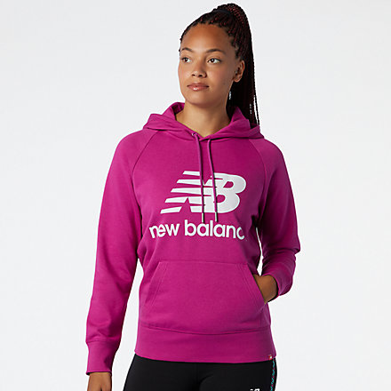 New Balance NB Essentials Pullover Hoodie, WT03550JJL image number null