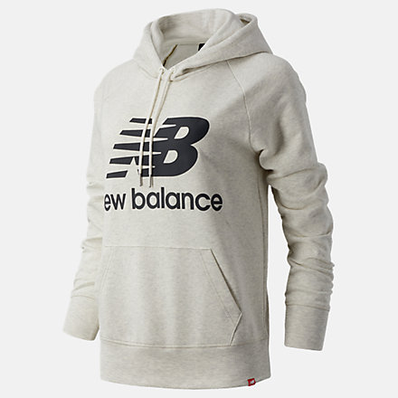 New Balance NB Essentials Pullover Hoodie, WT03550SAH image number null