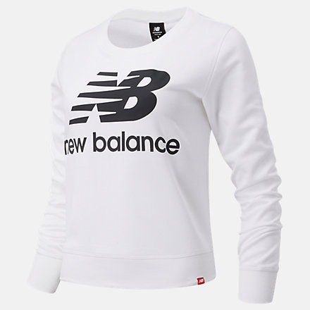 New Balance Essentials Crew, WT03551WK image number null