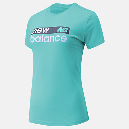 New Balance NB Classic Core Graphic Tee, WT03806SUJ image number null