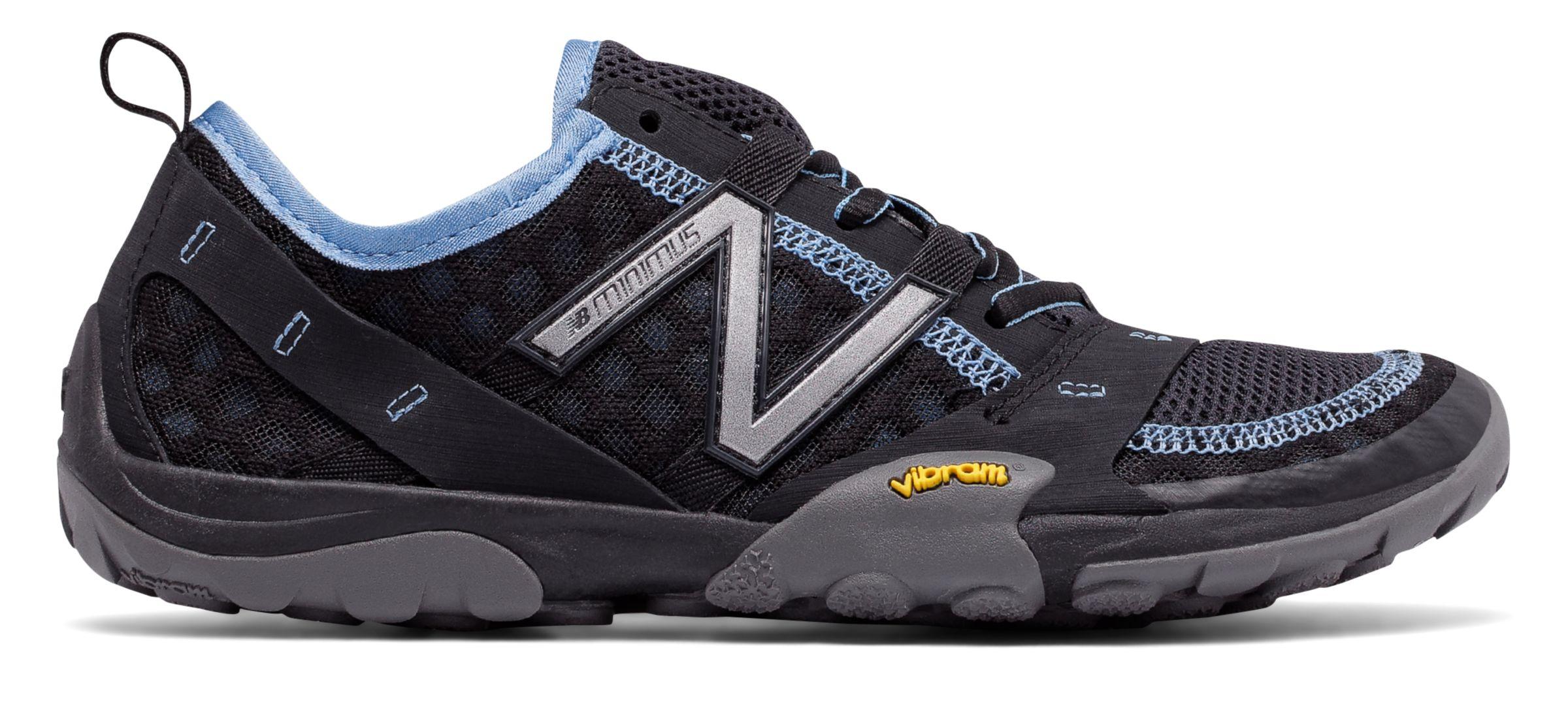 New Balance Damen Minimus Trail Traillaufschuhe, Schwarz (Black/Blue), 41.5 EU