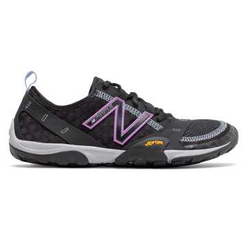 New Balance Minimus Trail 10v1, Black with Neo Violet