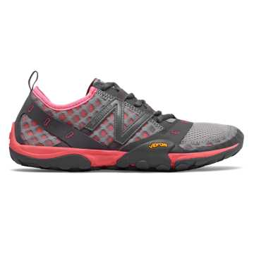 New Balance Minimus Trail 10, Team Away Grey with Guava