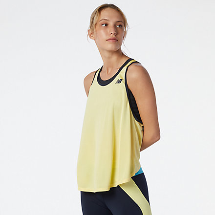 New Balance Achiever Mesh Tank, WT11188LHZ image number null