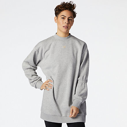 New Balance Achiever Crew Sweatshirt, WT11195AG image number null