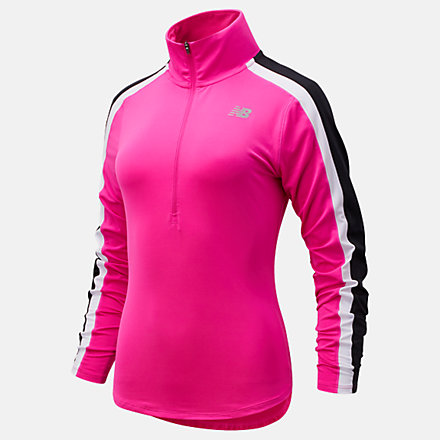NB Accelerate Half Zip Pullover, WT11216PGL image number null