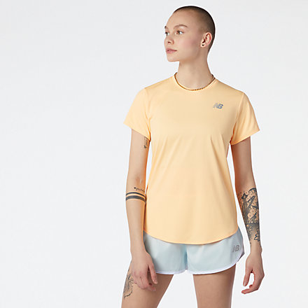 NB Accelerate Short Sleeve, WT11220LMO image number null