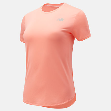 New Balance Accelerate Short Sleeve, WT11220PPI image number null