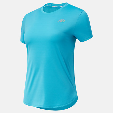 New Balance Accelerate Short Sleeve, WT11220VLS image number null