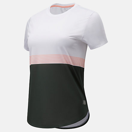 NB Printed Accelerate Short Sleeve, WT11221BS5 image number null
