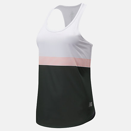 New Balance Printed Accelerate Tank, WT11223BS5 image number null