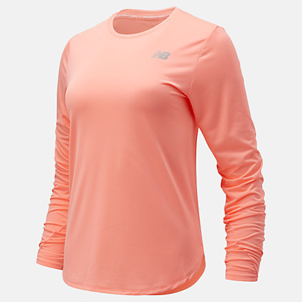 New Balance Accelerate Long Sleeve, WT11224PPI image number null
