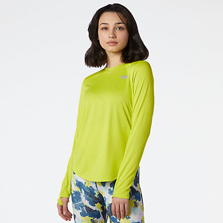 NB Accelerate Long Sleeve, WT11224SYE image number null