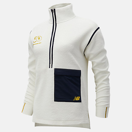 New Balance NYC Marathon Training Q Speed Sweatshirt, WT11276MSST image number null