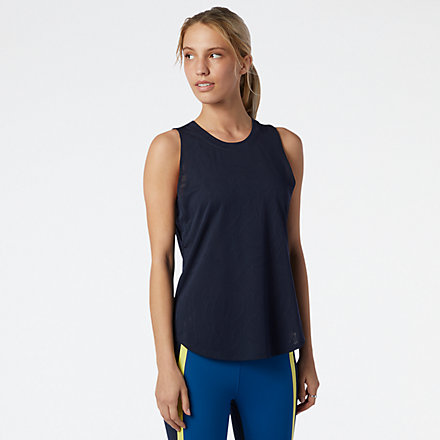 New Balance Q Speed Fuel Jacquard Tank, WT11277ECL image number null