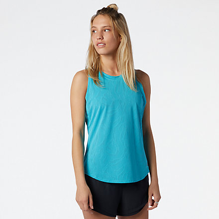 New Balance Q Speed Fuel Jacquard Tank, WT11277VLS image number null