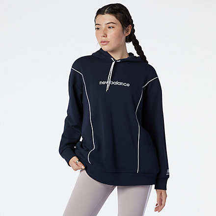 NB NB Athletics Fleece Hoodie, WT11502ECL image number null