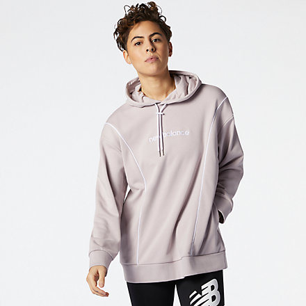 NB NB Athletics Fleece Hoodie, WT11502LWD image number null
