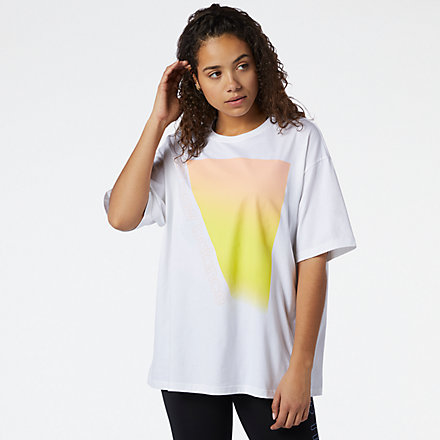 New Balance Sport Style Optiks Gradient Graphic Tee, WT11517WT image number null