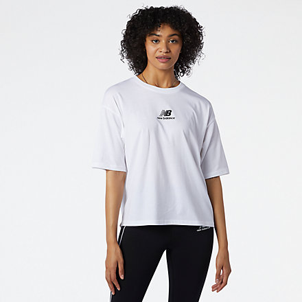 New Balance NB Athletics Collide Short Sleeve Tee, WT11540WT image number null