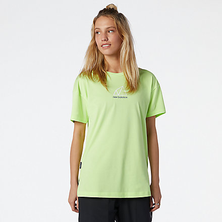 New Balance NB All Terrain Tee, WT11593BIO image number null