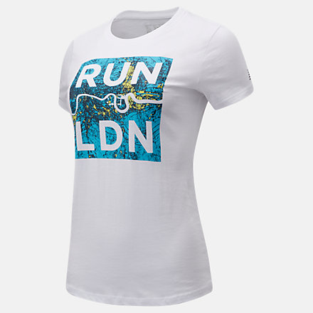 NB T-Shirt London Edition Thames Graphic, WT11602DWT image number null