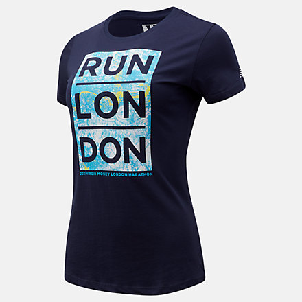 NB London Edition Map Graphic T-Shirt, WT11604DPGM image number null