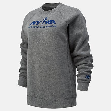 New Balance RFL Graphic Crew Sweatshirt, WT11606BAG image number null