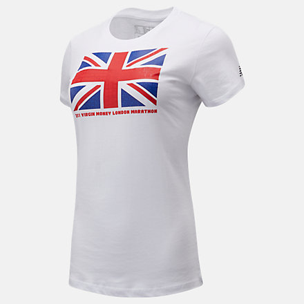 NB T-Shirt London Edition Union Jack Graphic, WT11607DWT image number null
