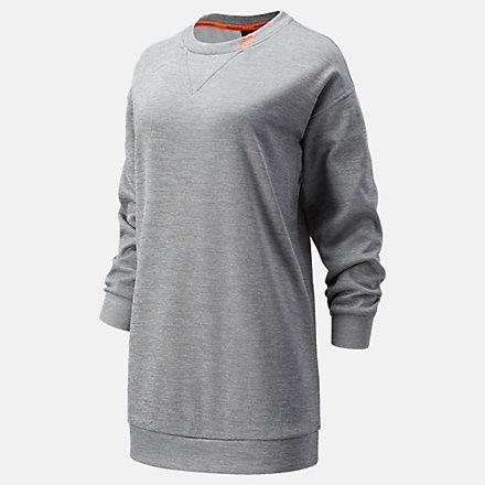 NB Achiever Train Fleece Sweatshirt, WT13151AG image number null