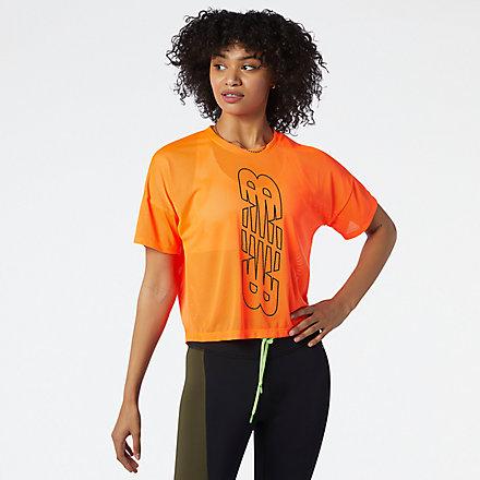 New Balance Tee-shirt Achiever avec un graphisme en trou de serrure dans le dos., WT13153DME image number null