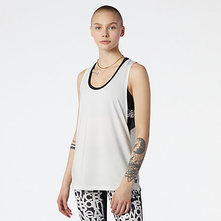 New Balance Relentless Sweat Tank, WT13169SST image number null