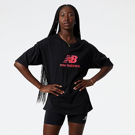 New Balance NB Athletics Coco Gauff Graphic Tee, WT13572BK image number null