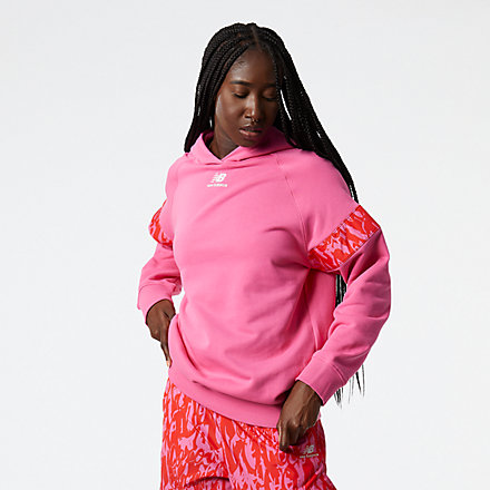 New Balance NB Athletics Coco Gauff Hoodie, WT13573SYK image number null