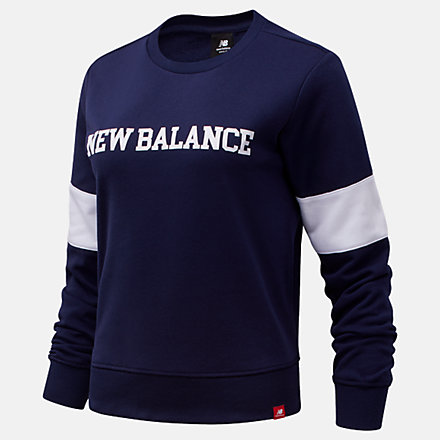 New Balance NB Classic Crew, WT13807PGM image number null