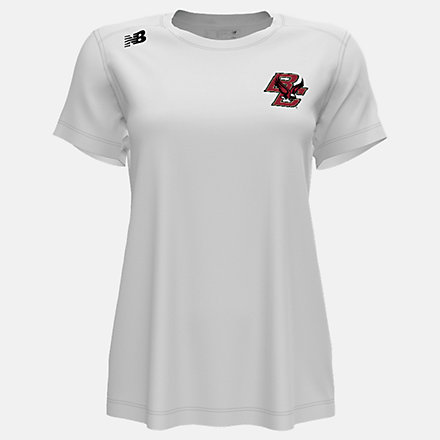 New Balance NB Short Sleeve Tech Tee(Boston College), WT500BCAWT image number null